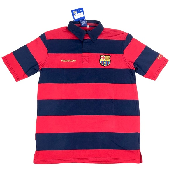 reputable site 91b5a 42b48 NWT FC Barcelona POLO Jersey Shirt Size XL Boutique